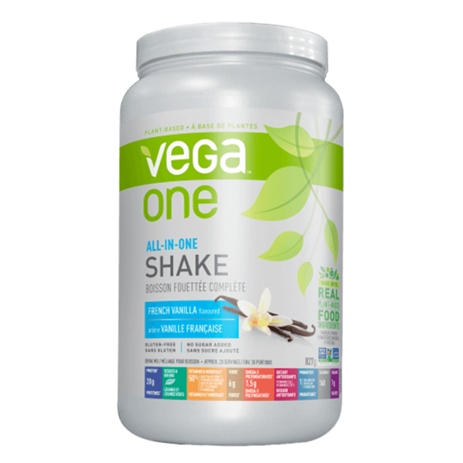 Vega One Vegan Protein 1.93lb / French Vanilla at Supplement Superstore Canada