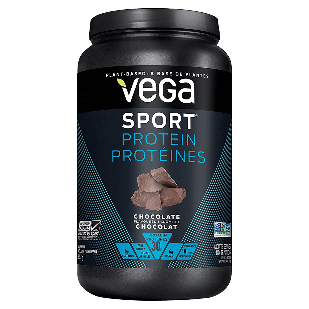 Vega Sport Performance Protein Vegan Protein 1.8lb / Chocolate at Supplement Superstore Canada