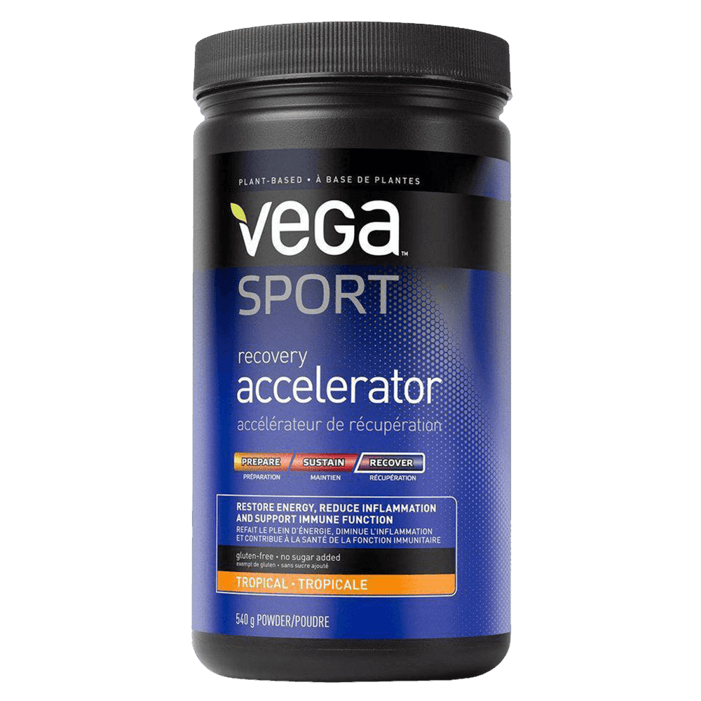 Vega Sport Recovery Accelerator Post Workout 20 Servings / Tropical at Supplement Superstore Canada