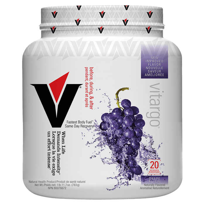 Vitargo Carbohydrate 20 Servings / Grape at Supplement Superstore Canada