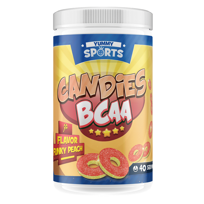 Yummy Sports Candies BCAA BCAA 40 Servings / Gummy Wormz at Supplement Superstore Canada