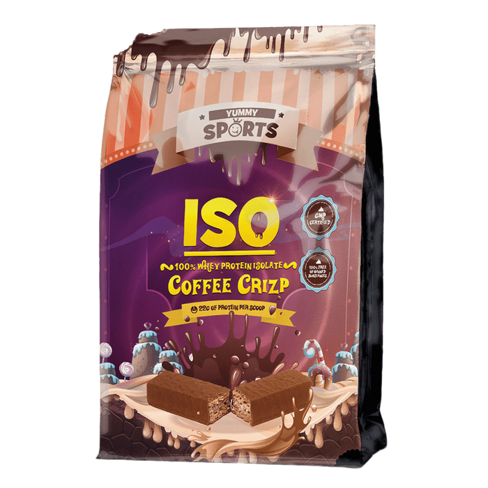 Yummy Sports Iso Whey Protein Isolate 2.2lb / Coffee Crizp at Supplement Superstore Canada