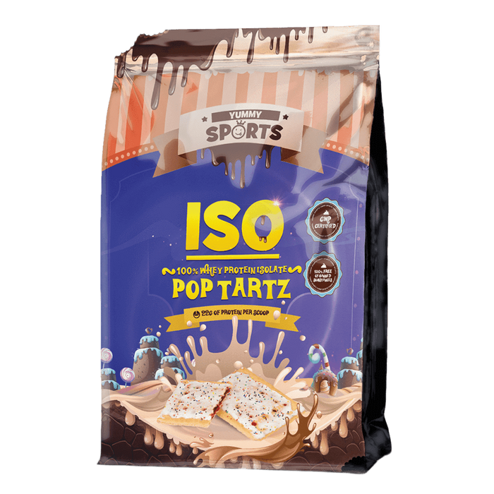 Yummy Sports Iso Whey Protein Isolate 2.2lb / Pop Tartz at Supplement Superstore Canada
