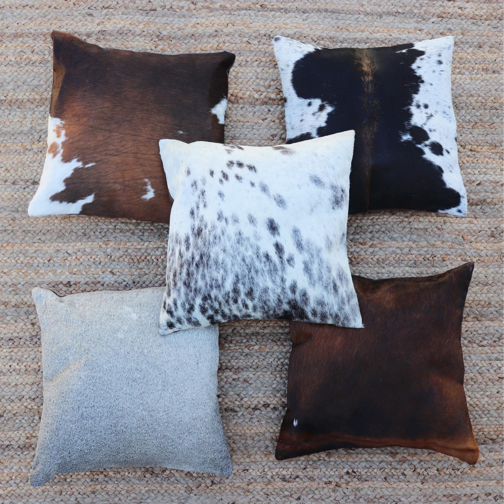 Cowhide Accent Pillows