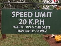 A funny sign from Kenya