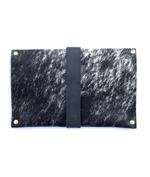 Tsavo Clutch Black/White