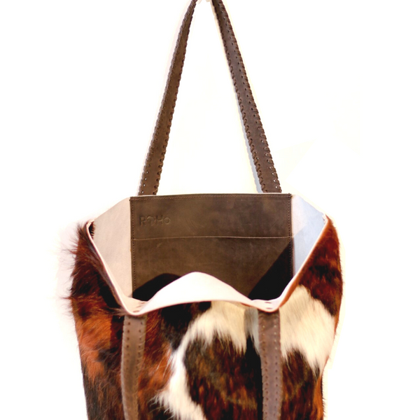 Tsavo Tote Black/Brown/White