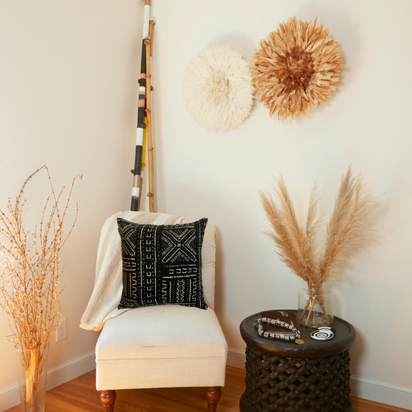 Tsavo Tote Dark Brown/White