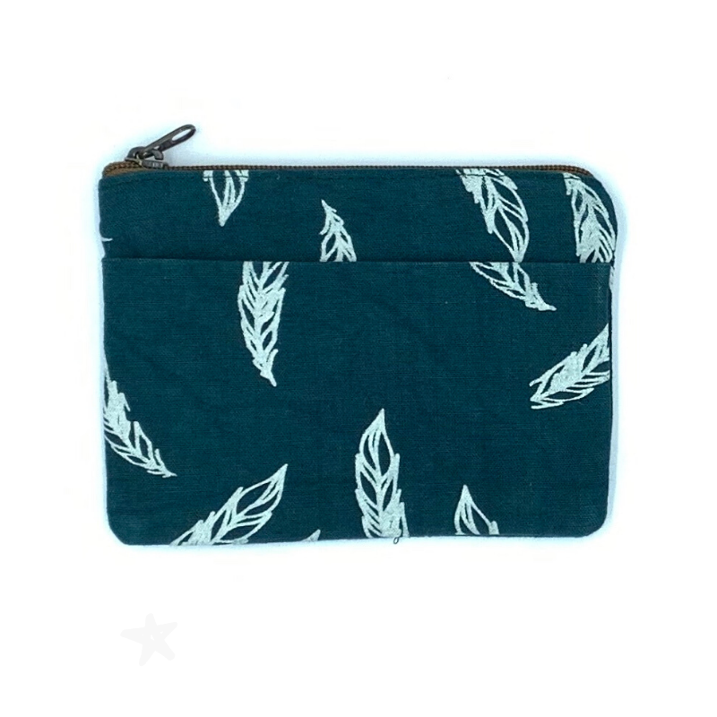 Amani Coin Purse Feathers - Love RoHo
