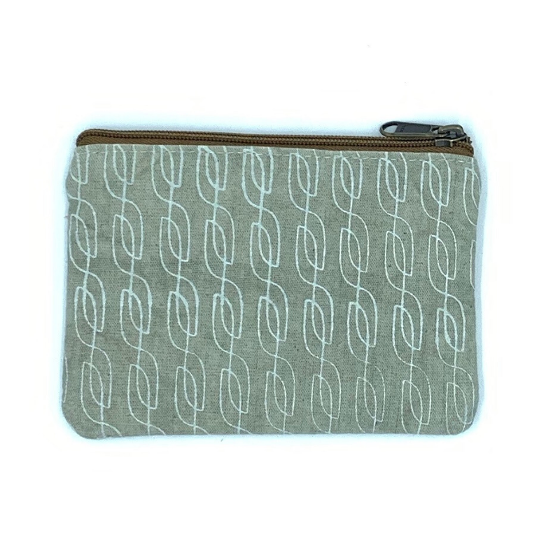 Amani Coin Purse Oatmeal