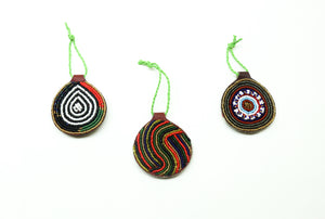 Beaded Christmas Ornament - Love RoHo
