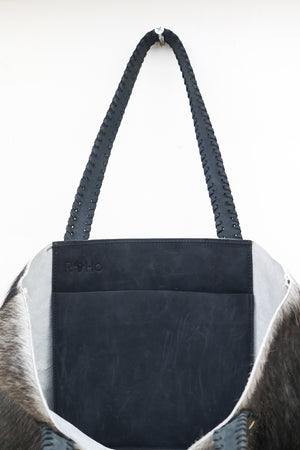 Tsavo Tote Gray/White - Love RoHo