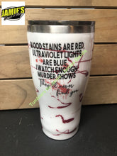 Blood Stains Crime Scene Tumbler - Made to Order - Jamies Decals