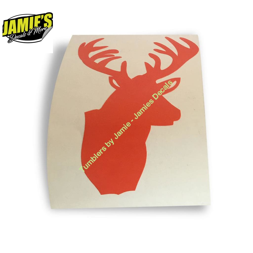 Buck Decal - Four Sizes - Color Options - Jamies Decals
