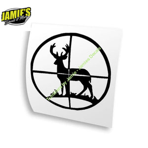 Buck Shot Decal - Four Sizes - Color Options - Jamies Decals
