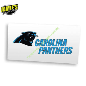 Carolina Football Decal - Four Sizes - Color Options - JD Version - Jamies Decals