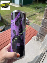 Country Girl PURPLE Camo Tumbler - Camo Tumbler - Made to Order 20 oz Skinny Tumbler Camo Collection