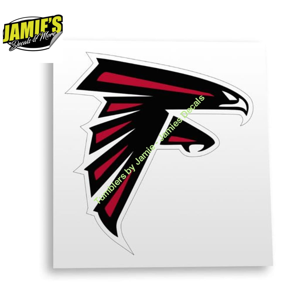Falcons Decal - Four Sizes - JD Version - Jamies Decals