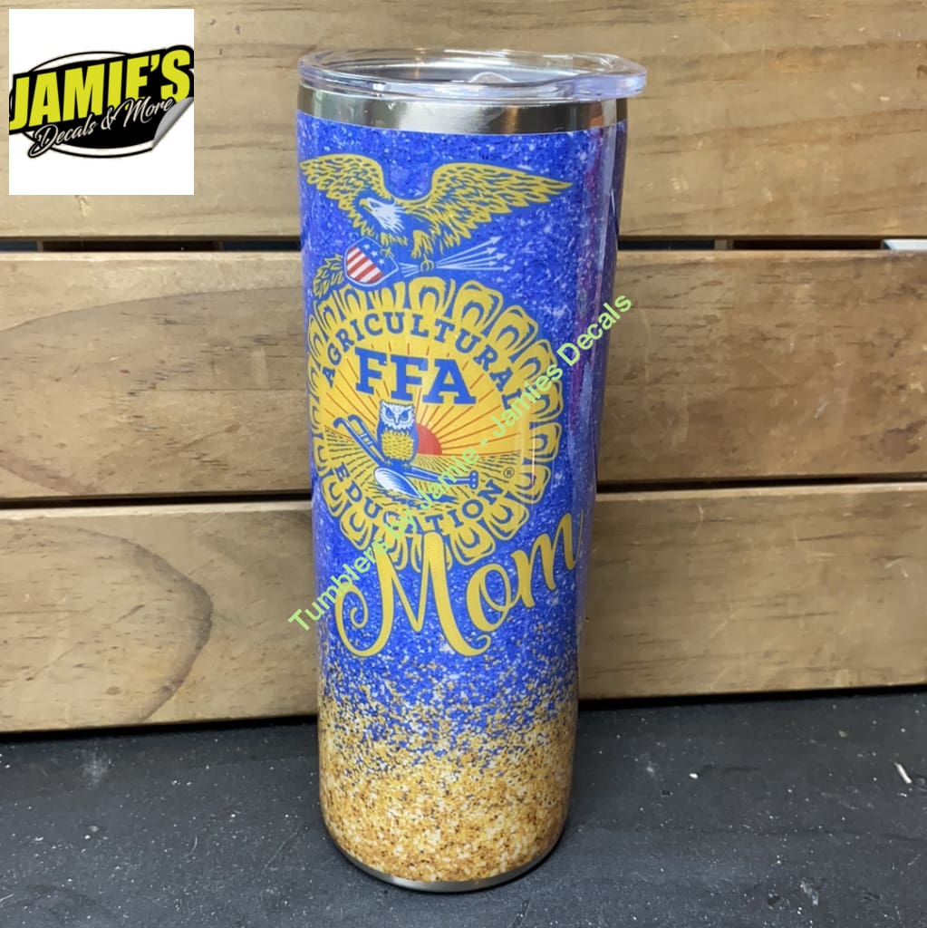 FFA mom 20 Skinny Tumbler - Ready to Ship or Pick Up Ready to Ship