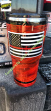 Fire Tumbler Tumbler - Made to Order - Personalized Decal Tumbler - Jamies Decals