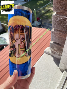 Hocus Pocus inspired 20 skinny Tumbler -Made to Order - Personalized just for you 20 skinny tumbler