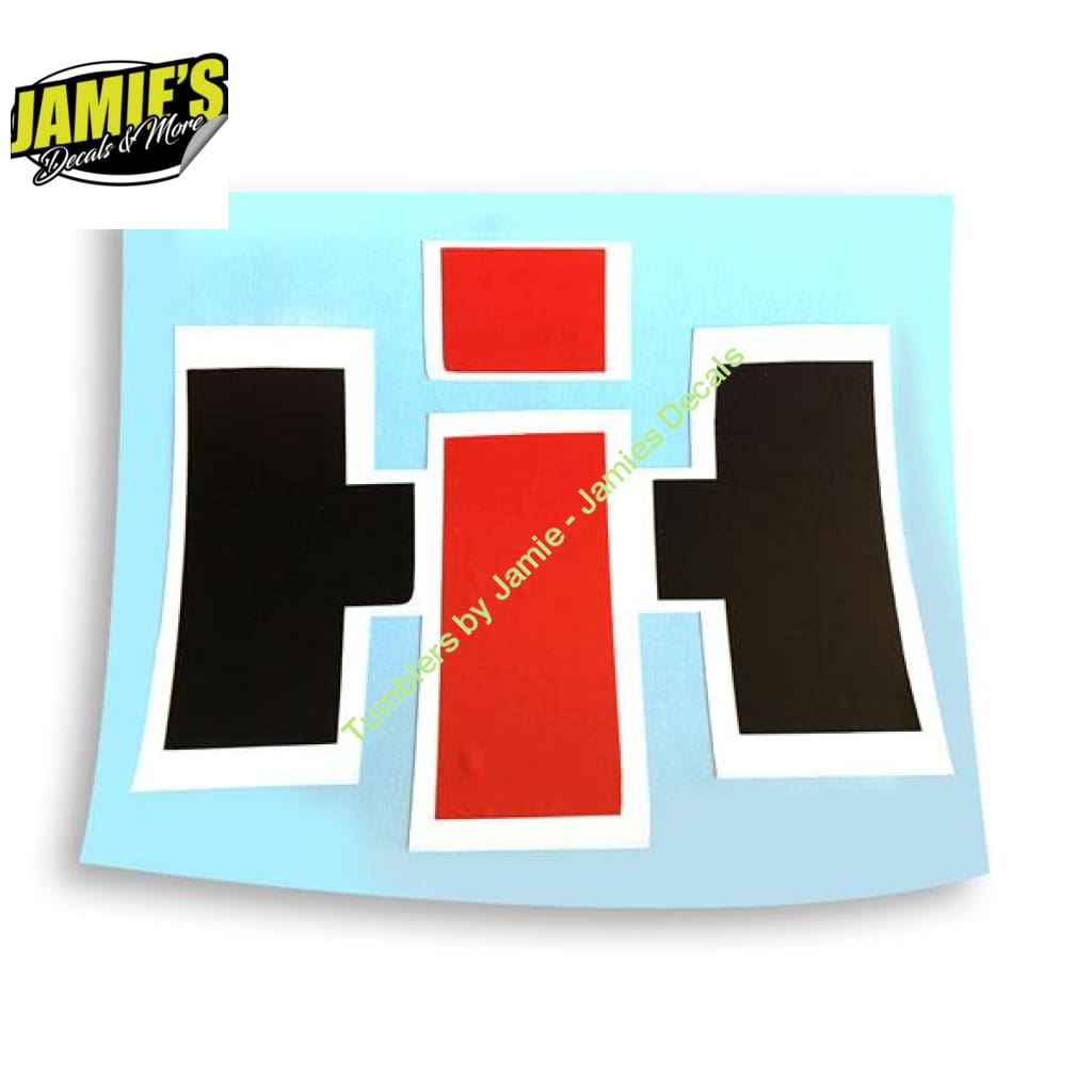 International Harvester Decal - Four Sizes - Jamies Decals