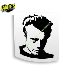 James Deen Decal - Four Sizes - Color Options - Jamies Decals