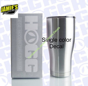 Just a tumbler with a Vinyl Decal - Jamies Decals