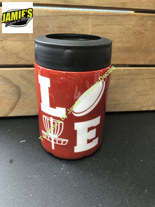 LOVE Disc Golf Tumbler  -Made to Order - Jamies Decals