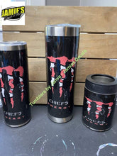 Monster Kansas City Chiefs Inspired Tumbler - Made to Order Tumbler
