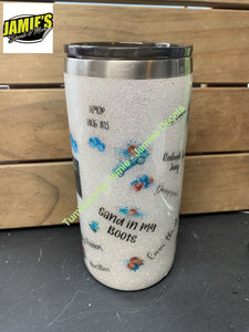 Morgan Wallen Inspired Tumbler - Made to Order - size options Tumbler