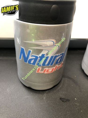 Natural Light inspired Tumbler - made to order Tumbler