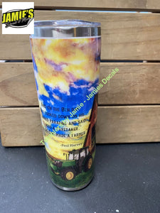 On the 8th Day 20 Skinny Tumbler - Ready to Ship or Pick Up Ready to Ship