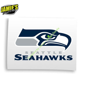 Seattle Seahawks Decal JD version - Decals - Decal - Four Sizes - Color Options - Jamies Decals