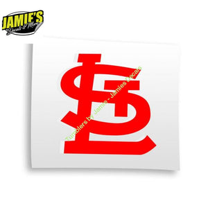 STL Decal - Decals - Four Sizes - Color Options - Jamies Decals