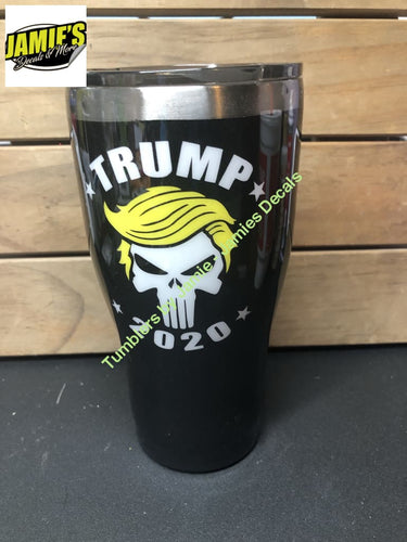 Trump 2020 Tumbler - Made to Order - Jamies Decals