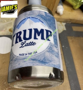 Trump latte Can Cooler - made to order Can Cooler Tumbler