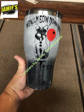 We All Meow Down Here KiTten Glitter Tumbler - Glitter Tumbler  - Glitter Tumbler -Made to Order - Jamies Decals
