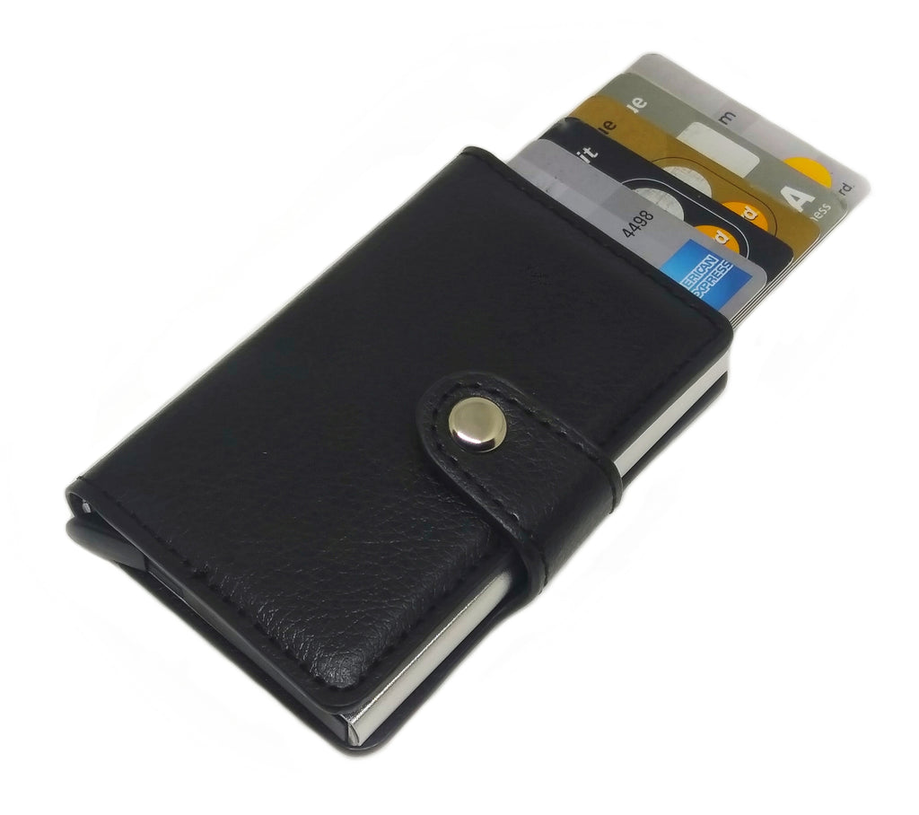 Automatic Wallet Faux Leather