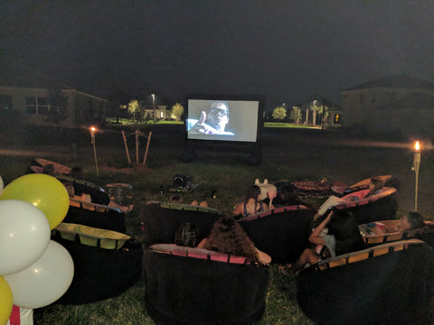 Outdoor Inflatable Movie Screen Rental