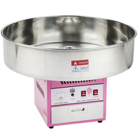 Cotton Candy Machine with Clear Bubble Shield
