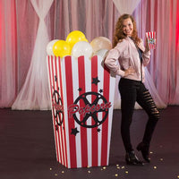 Giant 5 FT Popcorn Boxes (Set of Two)