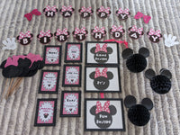 minnie mouse birthday party in a box rental