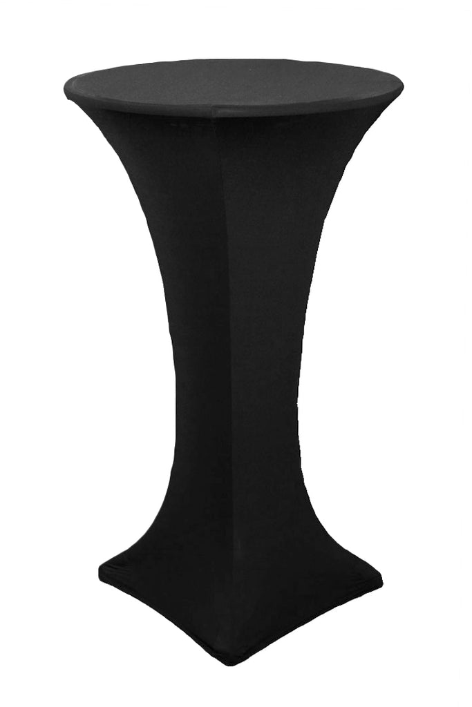 spandex stretch cocktail table covers black lakewood ranch bradenton
