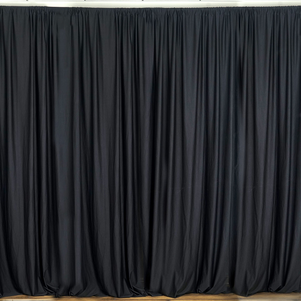 black photo backdrop with stand rental