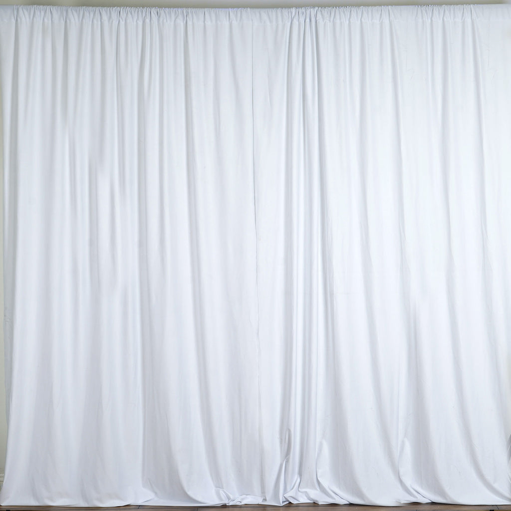 white photo backdrop with stand rental