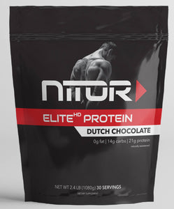 ELITE HP DUTCH CHOCOLATE WHEY PROTEIN ISOLATE
