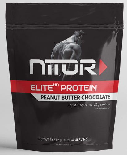 ELITE HD PEANUT BUTTER CHOCOLATE PROTEIN