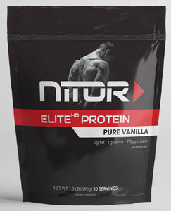 ELITE HP PURE VANILLA WHEY PROTEIN ISOLATE (Low Carb)