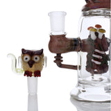 Empire Glassworks Hootie and Friends Mini Rig Water Pipe